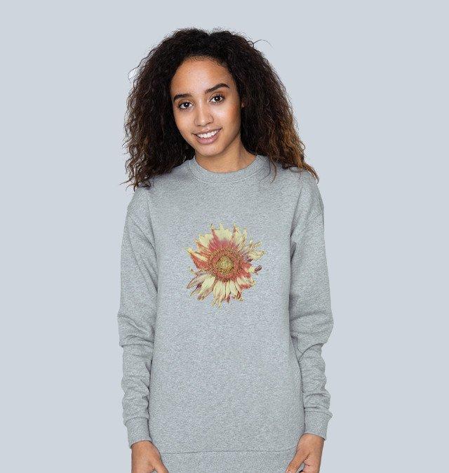 Women's Sunflower Nature Threads Crew Sweat