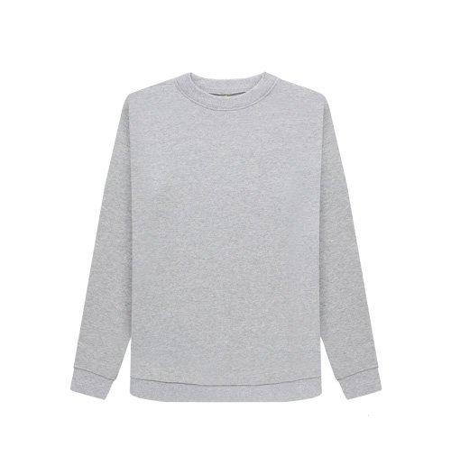 Our Women's Organic Crew Neck Sweatshirt